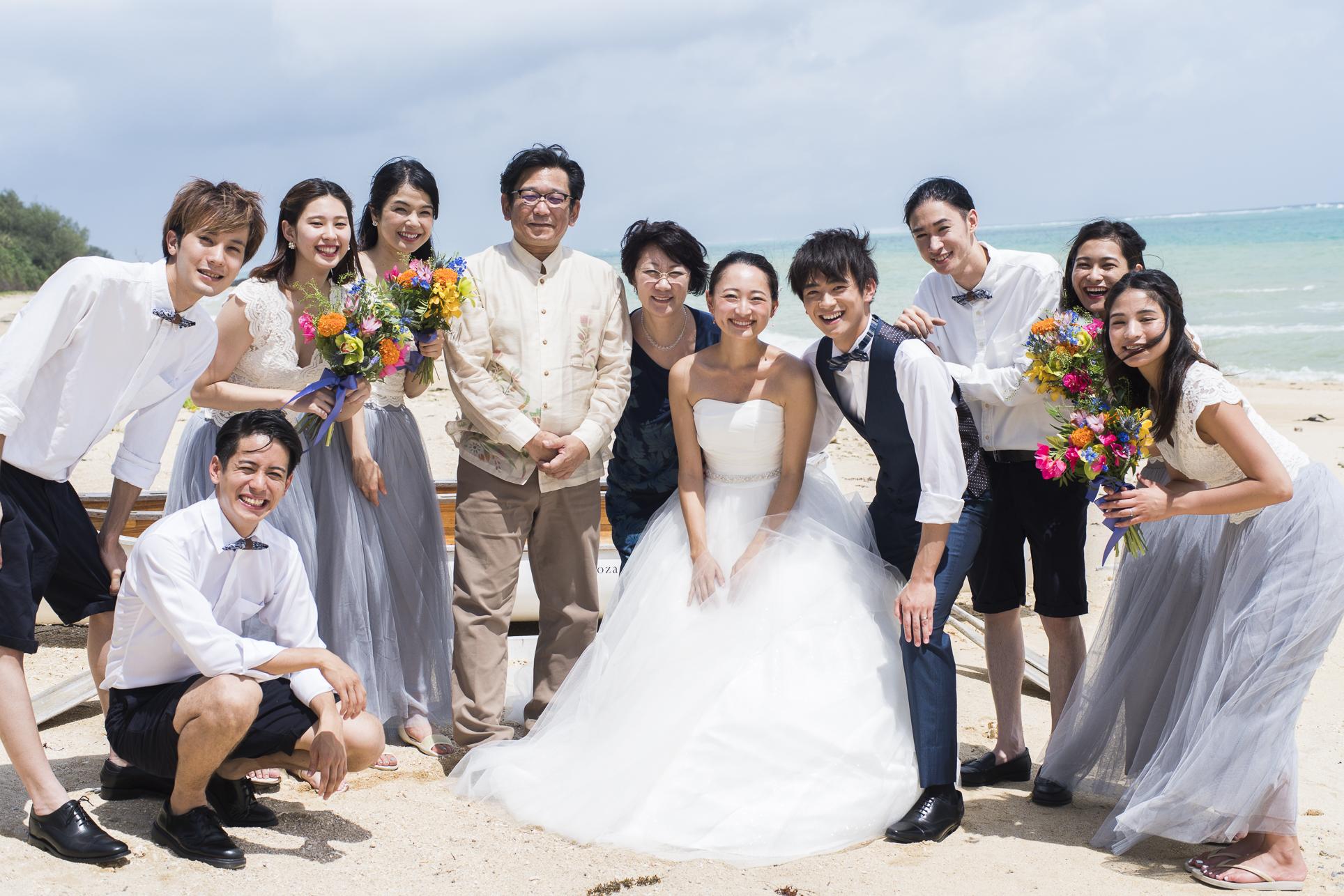 沖縄ウエディング.まとめゲストに事前に教えてあげたい!沖縄リゾートウェディングでおすすめ&NGの服装まとめ<男女あり>